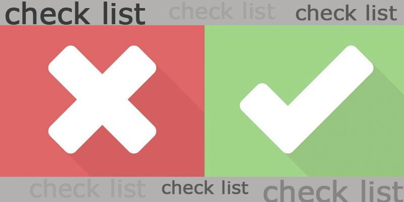 Guia de Como fazer um Check List